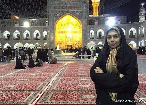 آزاده نامداری در مشهد