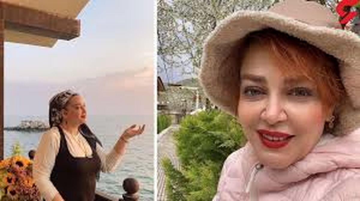 ویلای لاکچری بهاره رهنما و حاجی در شب چهارشنبه سوری + عکس
